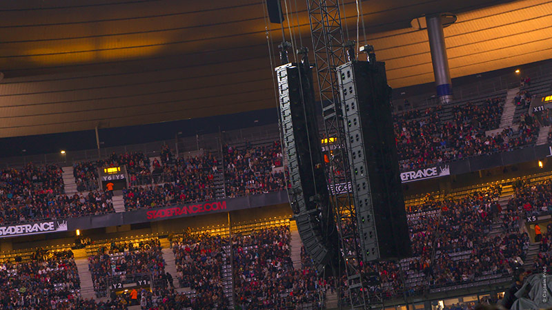 Meyer Sound Raises the Bar at Stade de France with Record-setting LEO Family System for Les Insus